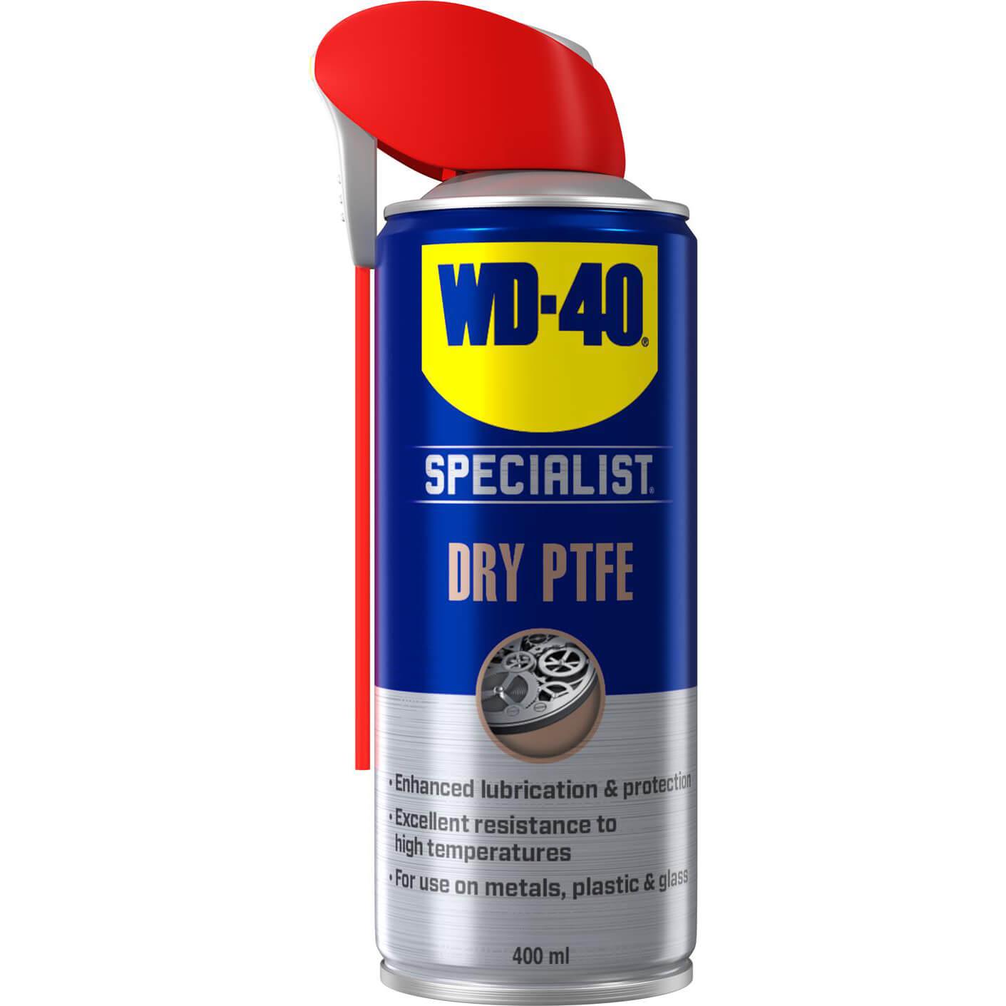Image of WD40 Specialist Dry PTFE Lubricant Aerosol Spray 400ml