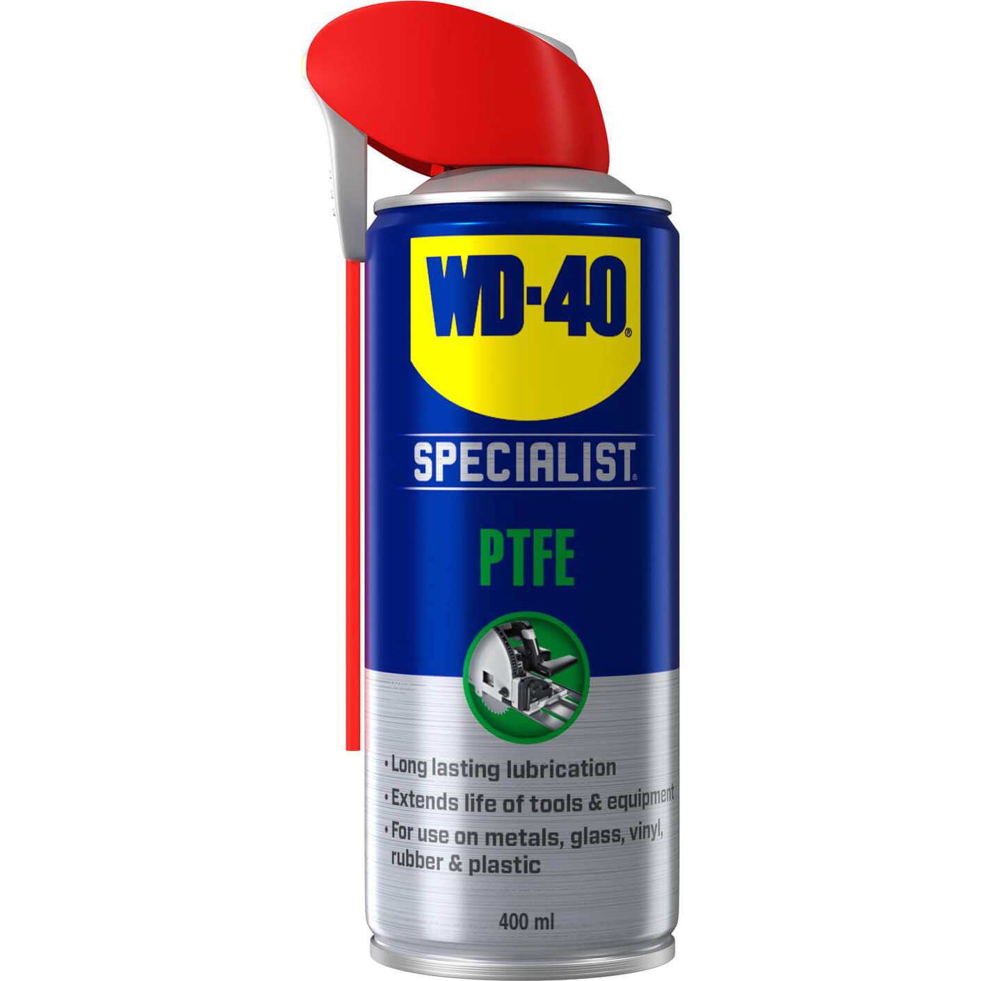 Image of WD40 Specialist High Performance PTFE Lubricant Aerosol Spray 400ml