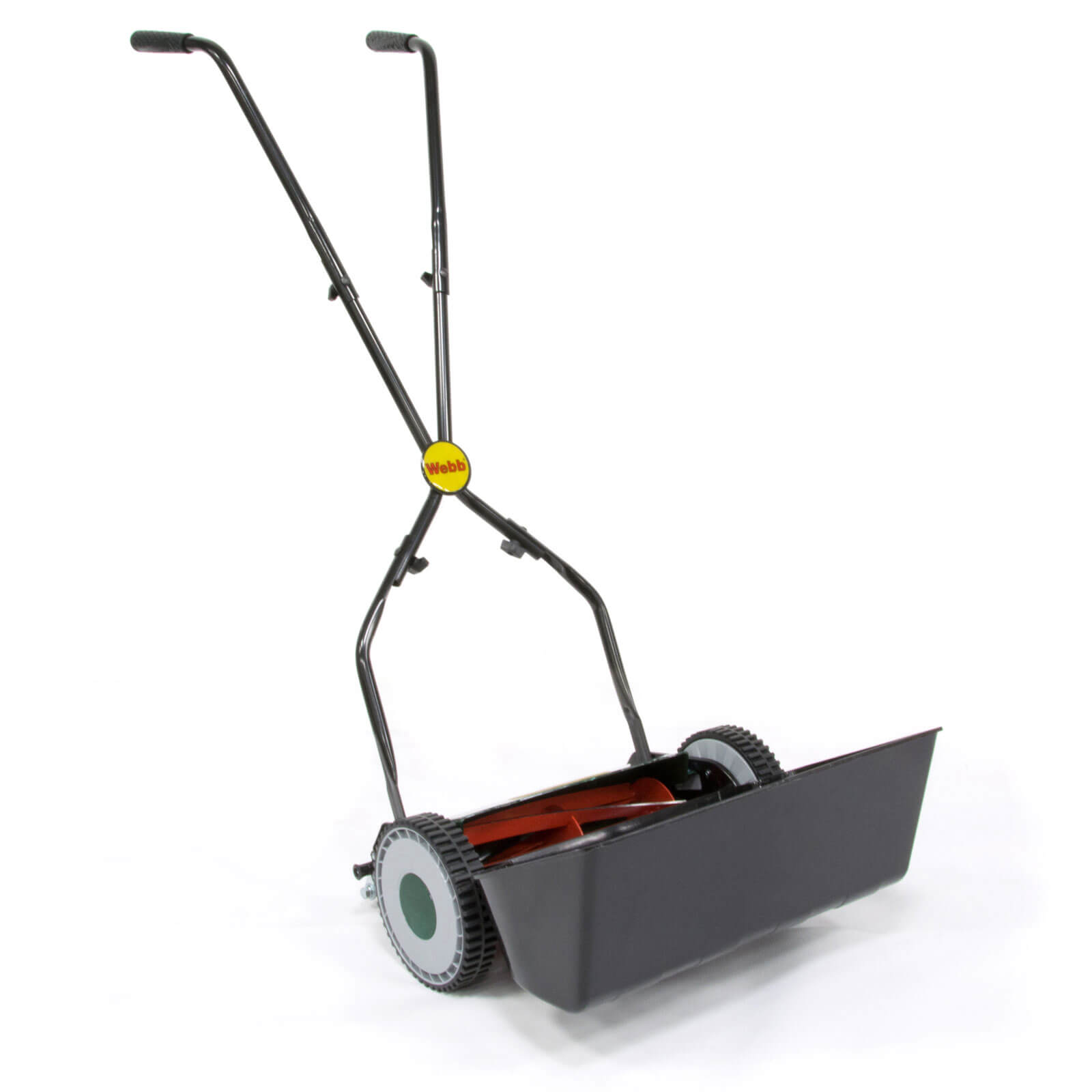 Image of Webb WEH30 Autoset Push Cylinder Hand Lawnmower 300mm