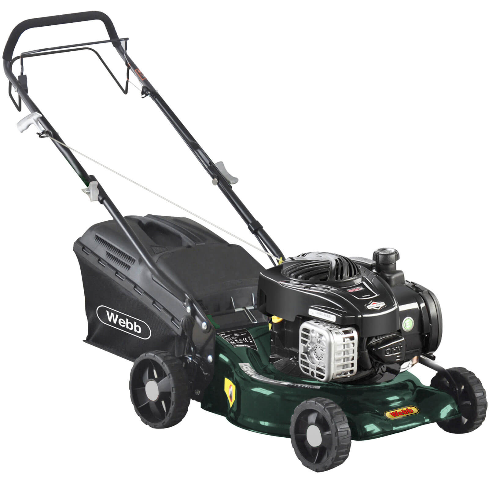 Image of Webb WER16SP Self Propelled Petrol Rotary Lawnmower 420mm