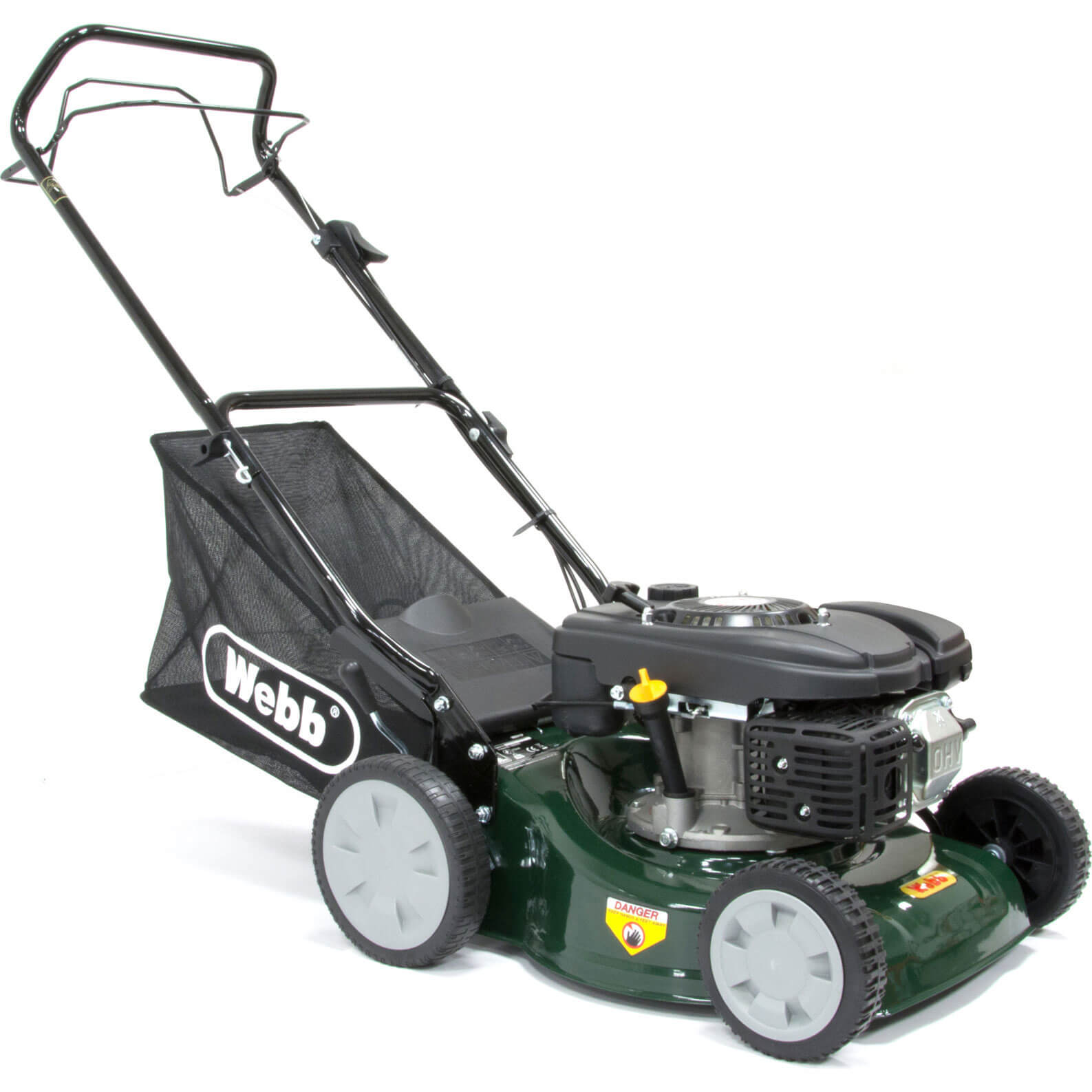 Image of Webb WER41SP Self Propelled Petrol Rotary Lawnmower 400mm