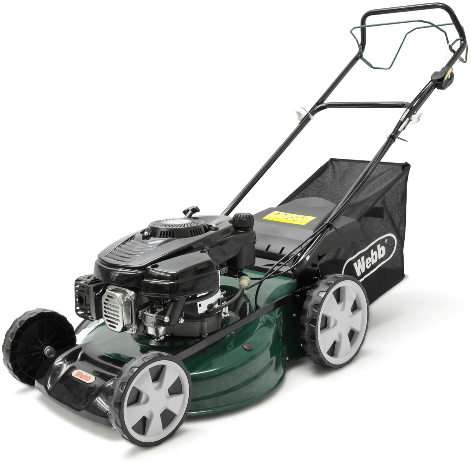 Image of Webb R51SP Classic Self Propelled Petrol Rotary Lawnmower 510mm