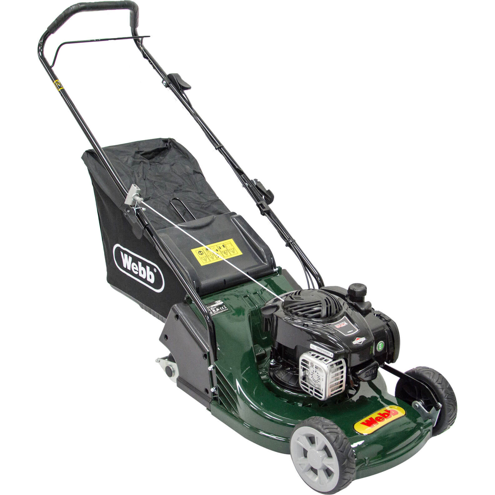 Webb WERR17P Push Petrol Rotary Lawnmower 425mm