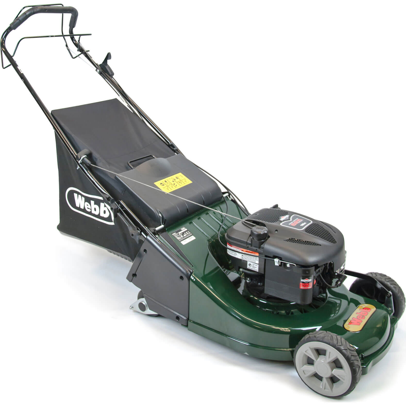 Click to view product details and reviews for Webb Werr19sp Self Propelled Petrol Rotary Lawnmower 475mm.