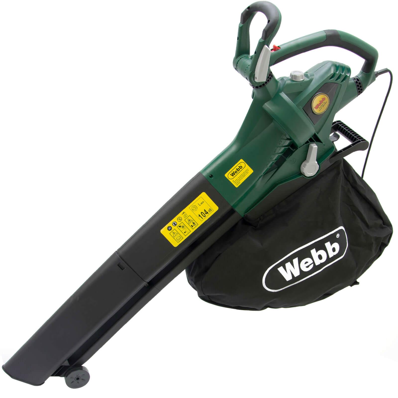 Webb EBV260 Garden Vacuum & Leaf Blower 240v