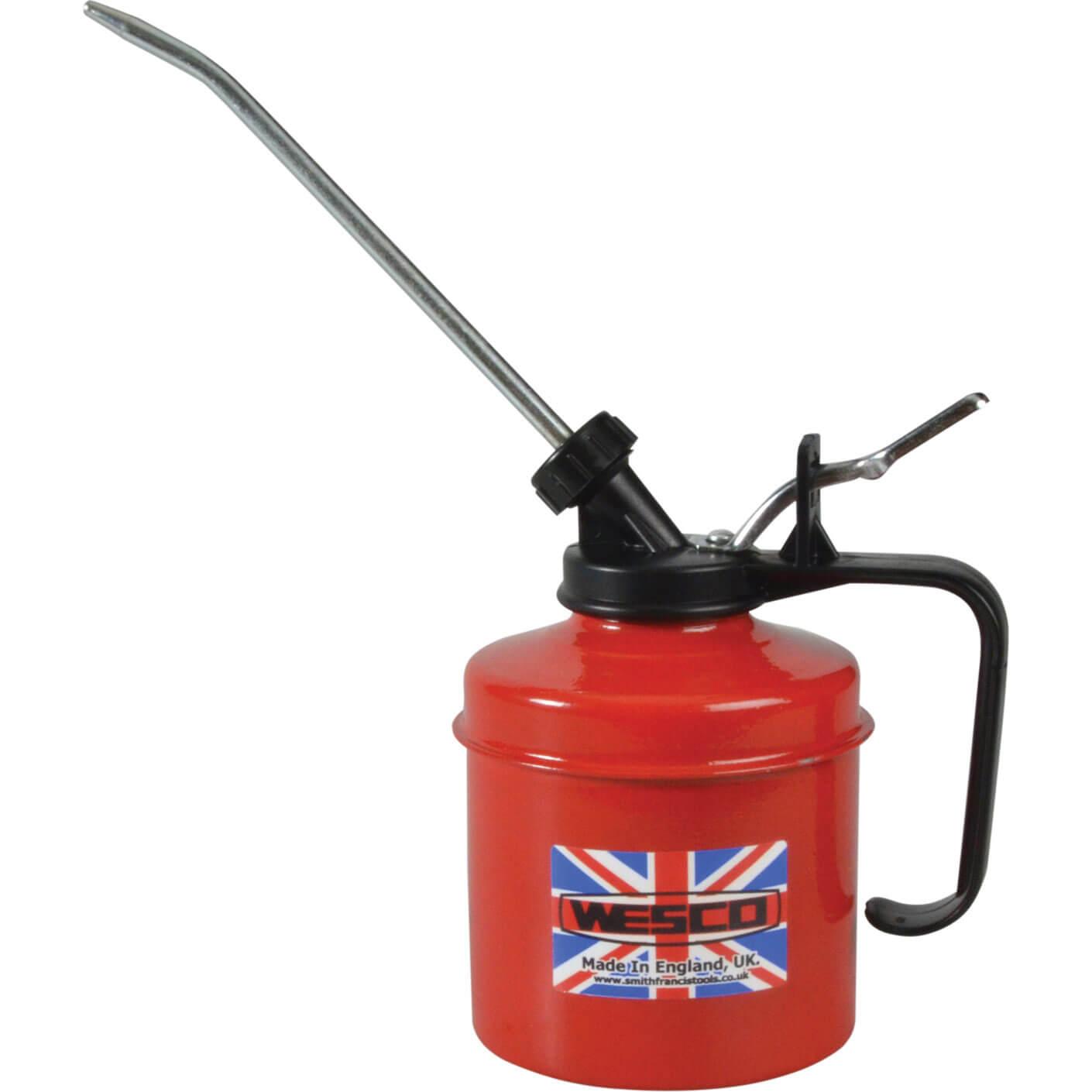Wesco Metal Oil Can & Metal Spout 500ml