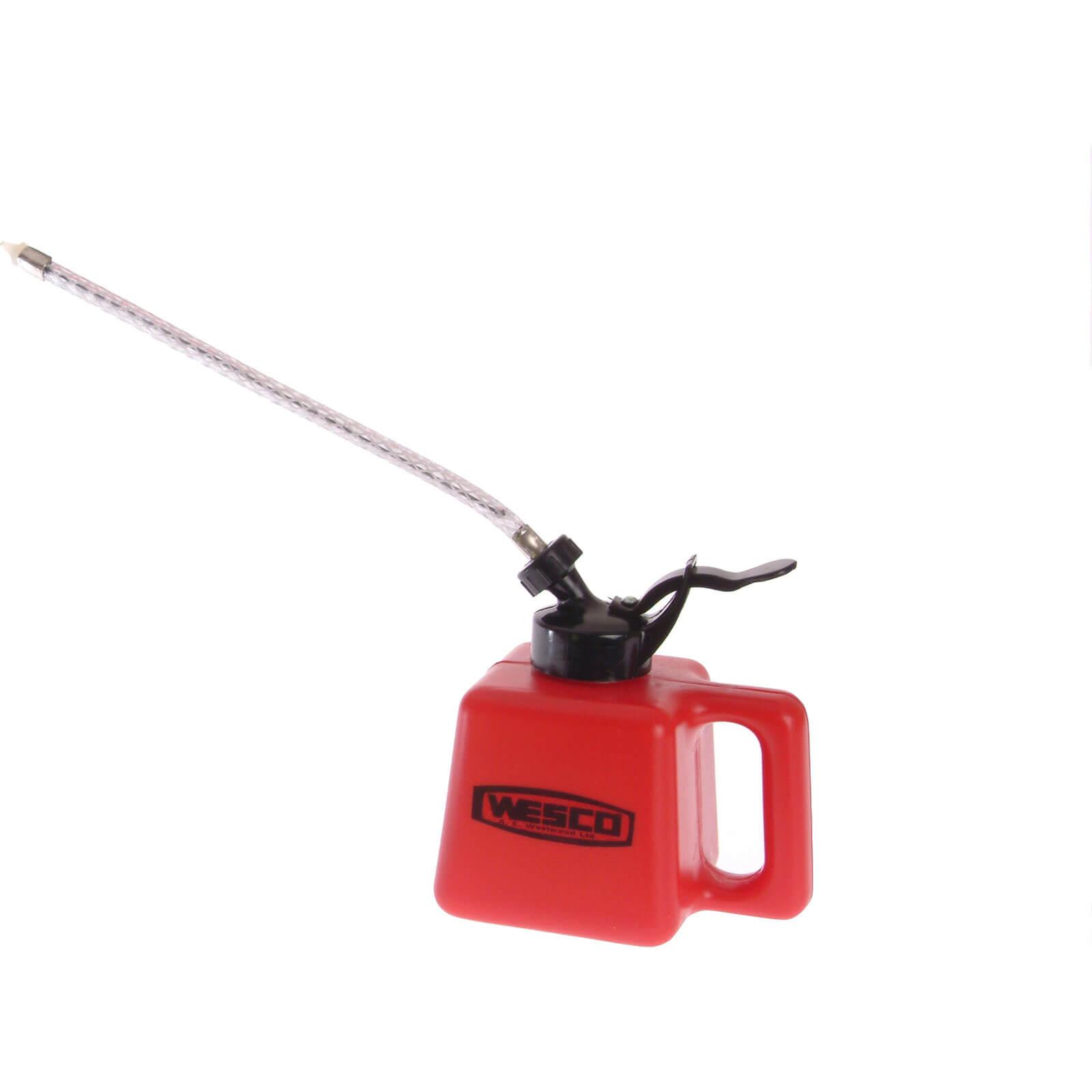 Wesco Polythene Oil Can & Flexible Spout 500ml