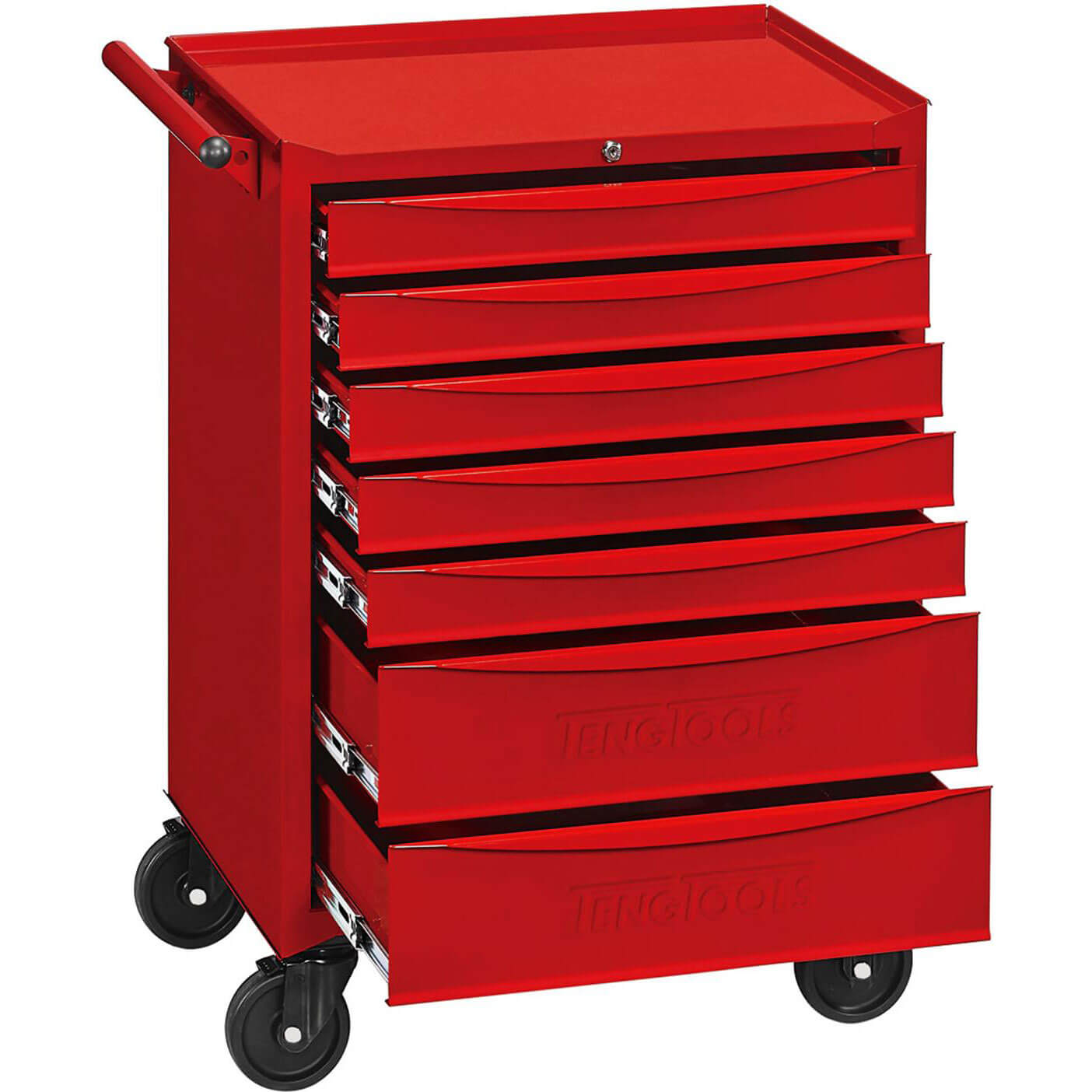 Image of Teng 369 Piece Rolling Cabinet Midi Tool Kit