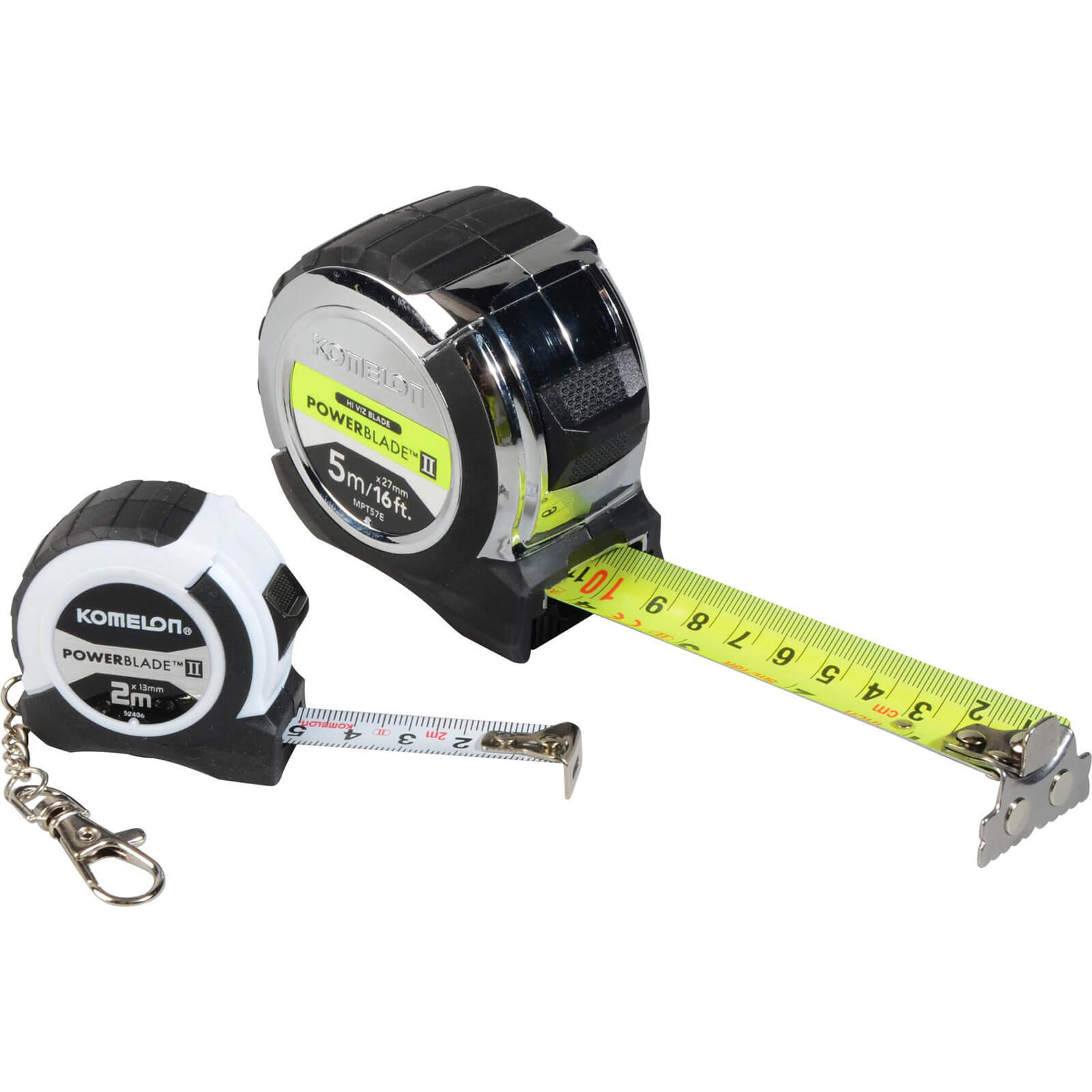 Image of Komelon 2 Piece Powerblade Tape Measure Set