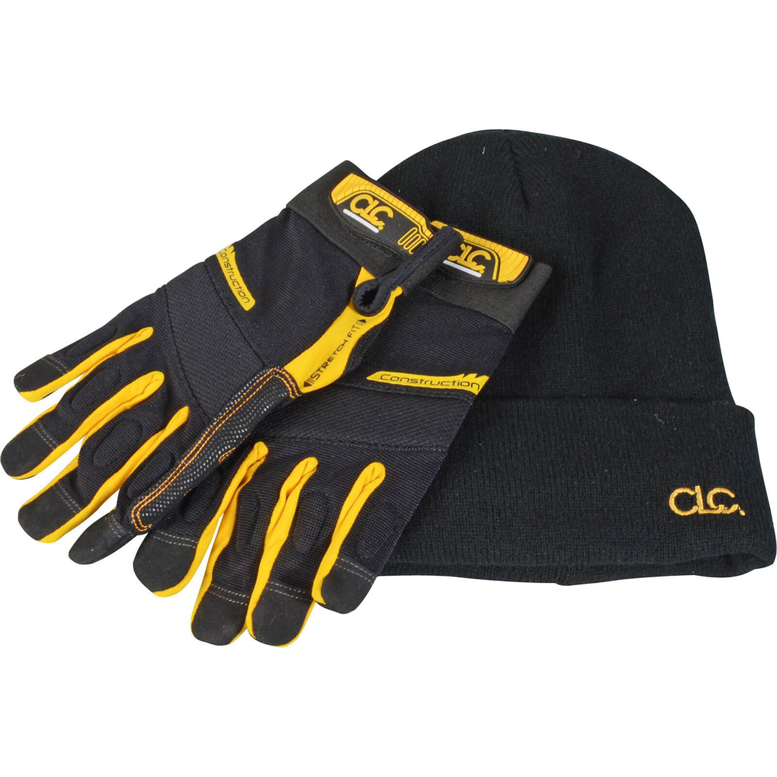 Image of CLC Flex-Grip Work Gloves & Beanie Hat
