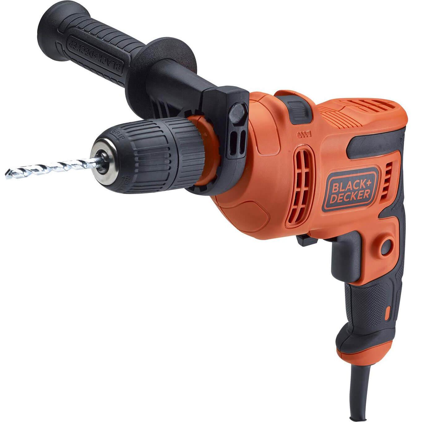 Black & Decker BEH200TB Heritage Drill with Drill Bit Set 500W 240V