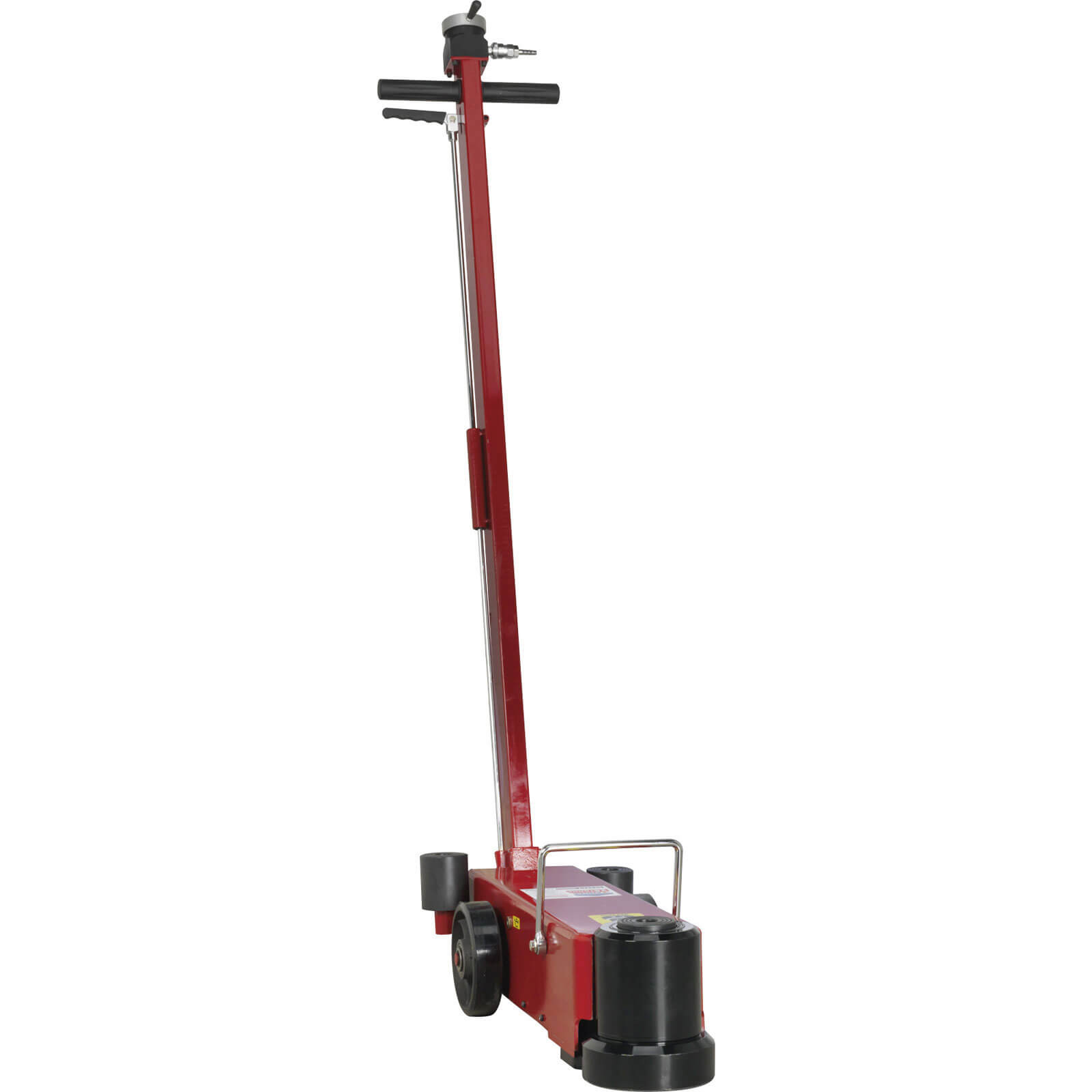 Sealey YAJ1025LR Yankee Air Operated Telescopic Long Reach Trolley Jack 25 Tonne