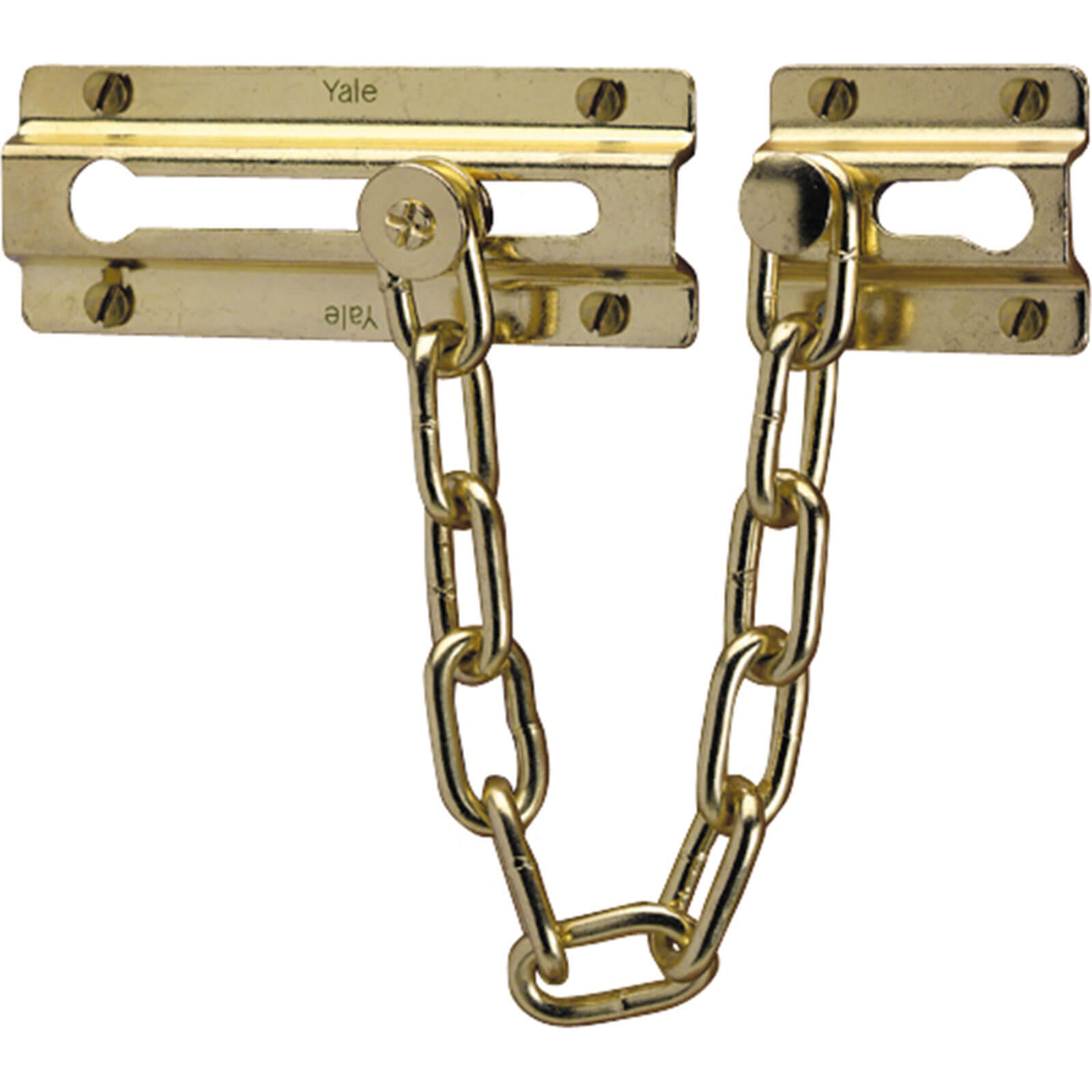 Image of Yale P1037 Door Chain Brass Finish