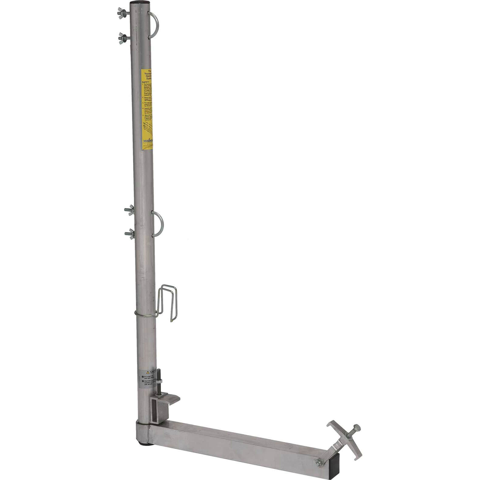 Youngman Double Guardrail Handrail Post for 450mm Boards
