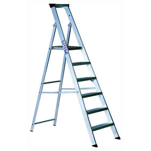 Youngman INDUSTRIAL Aluminium Platform Step Ladder 8