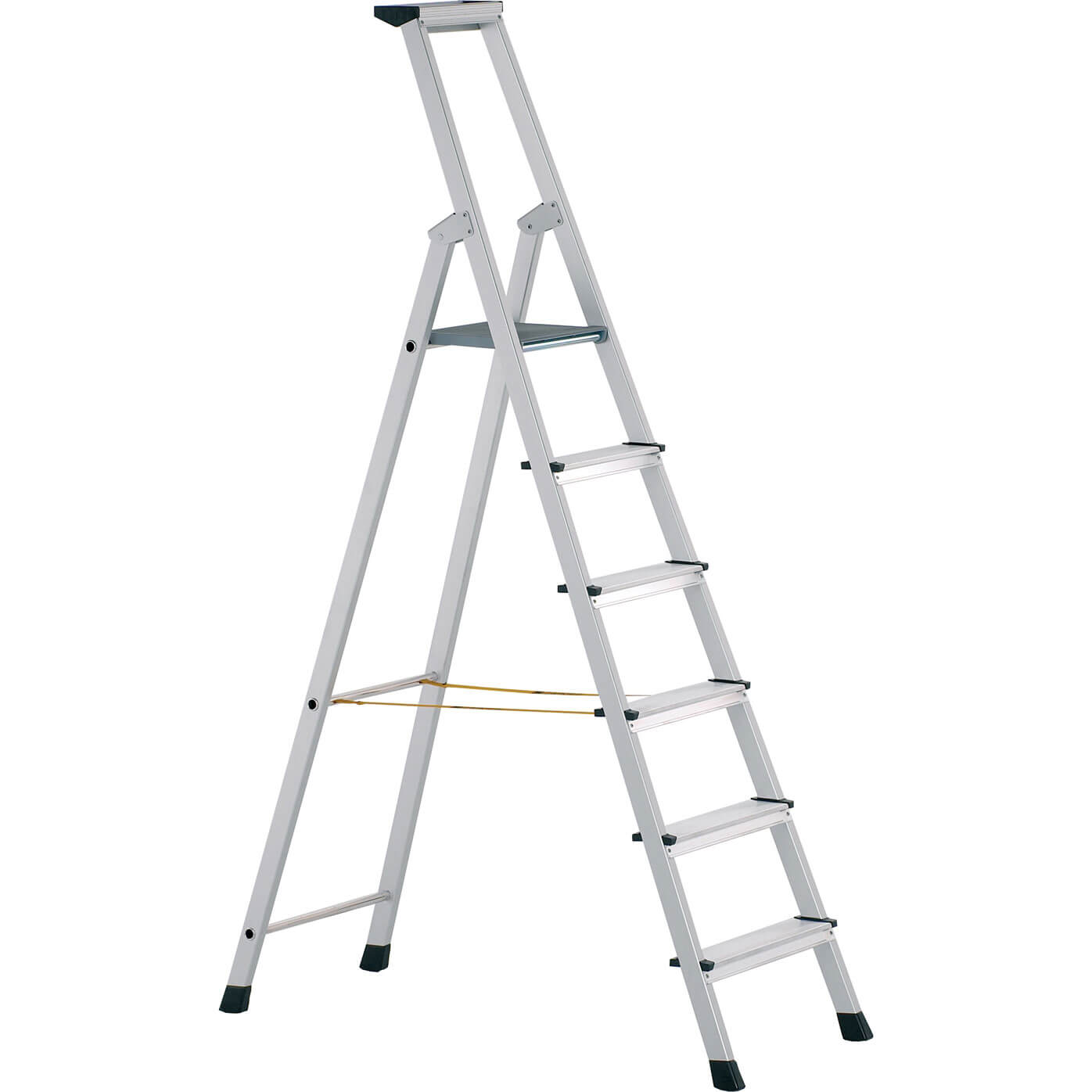 Image of Zarges Anodised Trade Platform Step Ladder 10