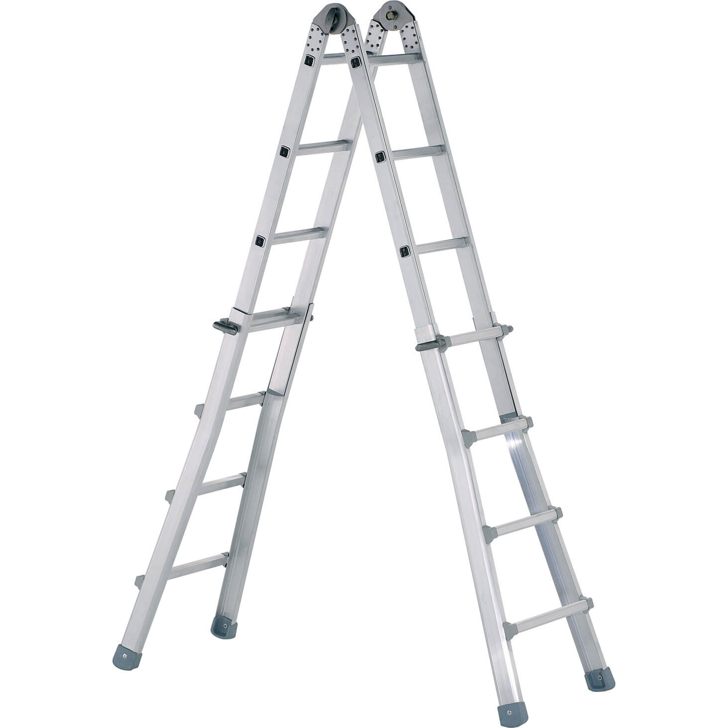 Zarges Z600 Industrial Telescopic Combination Ladder 6.4m