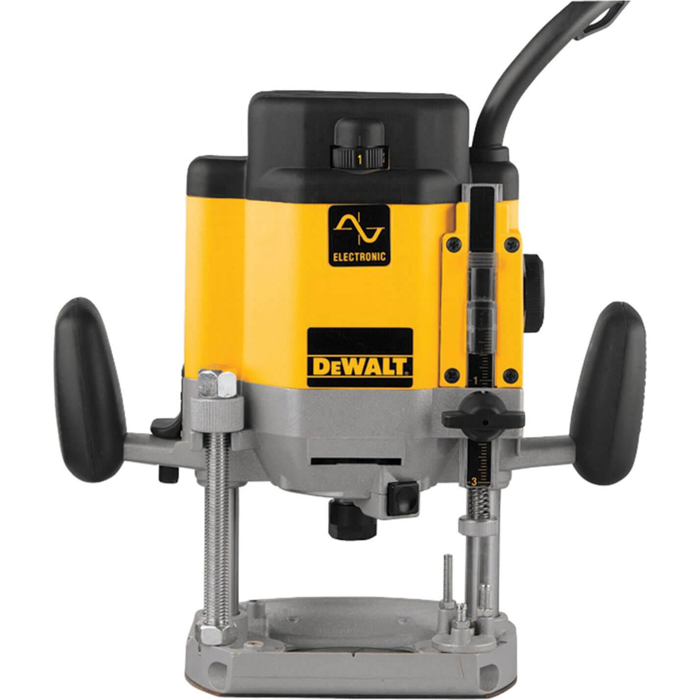 """DeWalt DW625EK-GB 2000W 1/2"""" H/D Router 240V"""