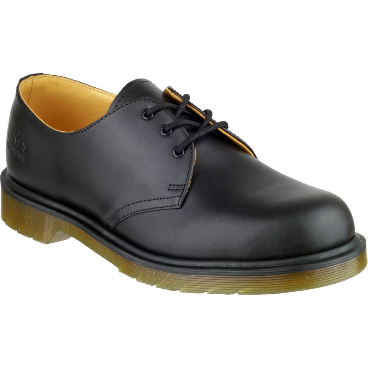 Image of Dr Martens B8249 Lace-Up Leather Shoe Black Size 4