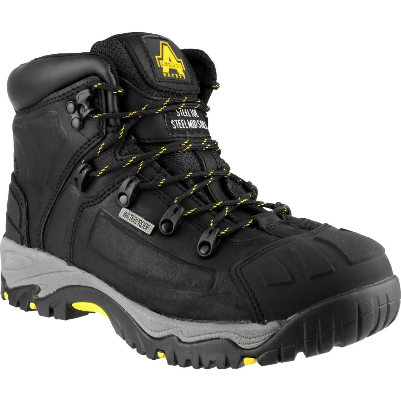 CHEAP Amblers Mens Safety FS32 Waterproof Safety Boots Black Size 6 – Men's Footwear