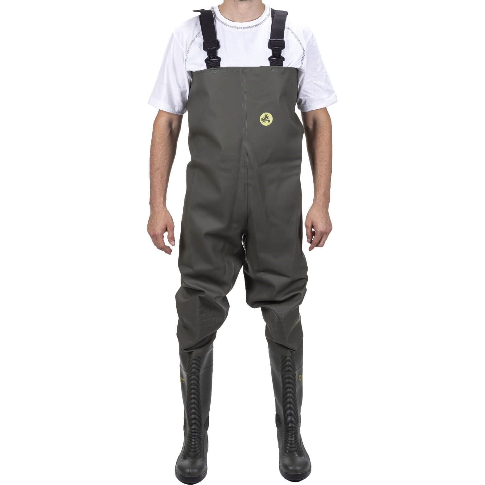 CHEAP Amblers Safety Tyne Chest Safety Wader Green Size 4 – Men's Outerwear
