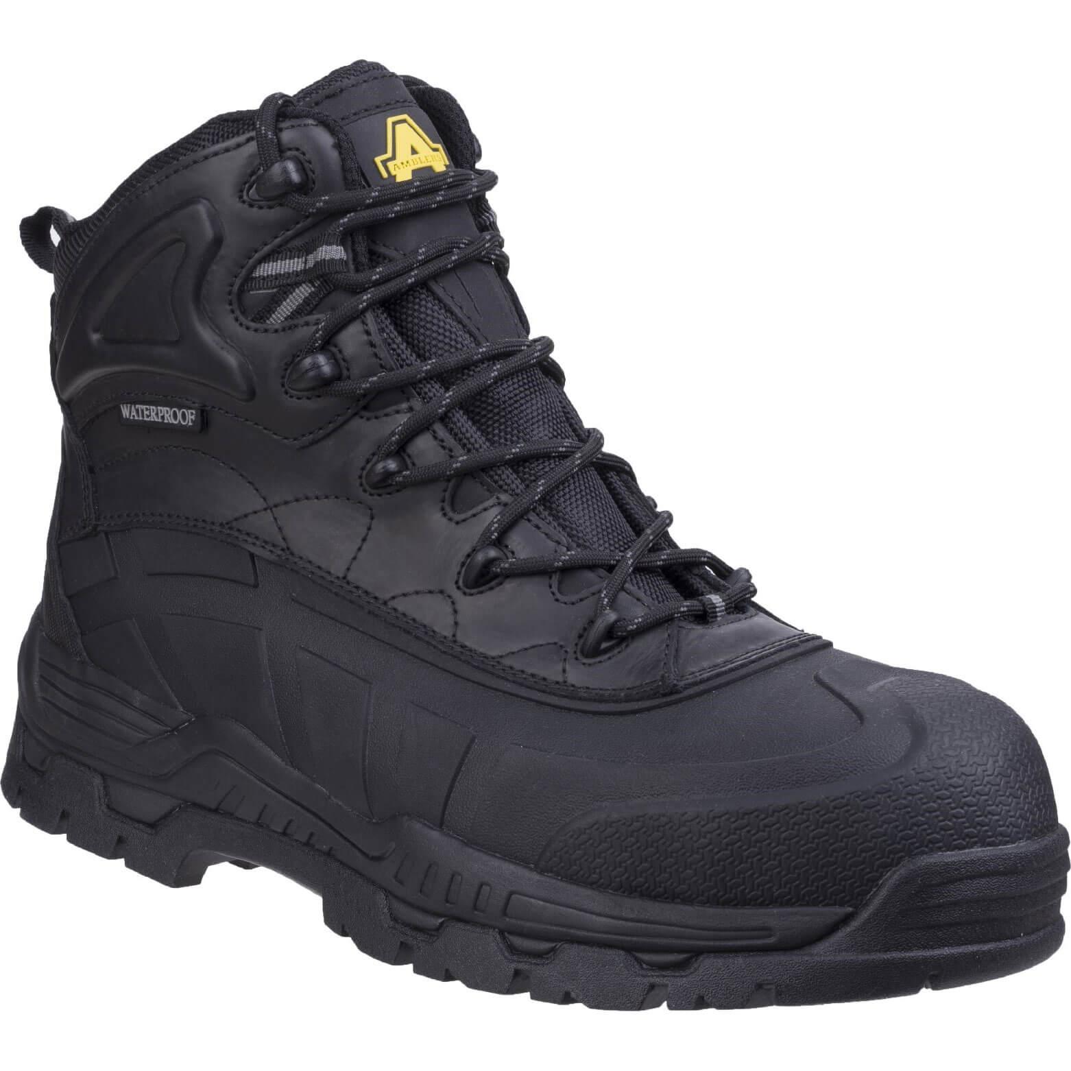 CHEAP Amblers Mens Safety FS430 Hybrid Waterproof Non-Metal Safety Boots Black Size 12 – Men's Footwear