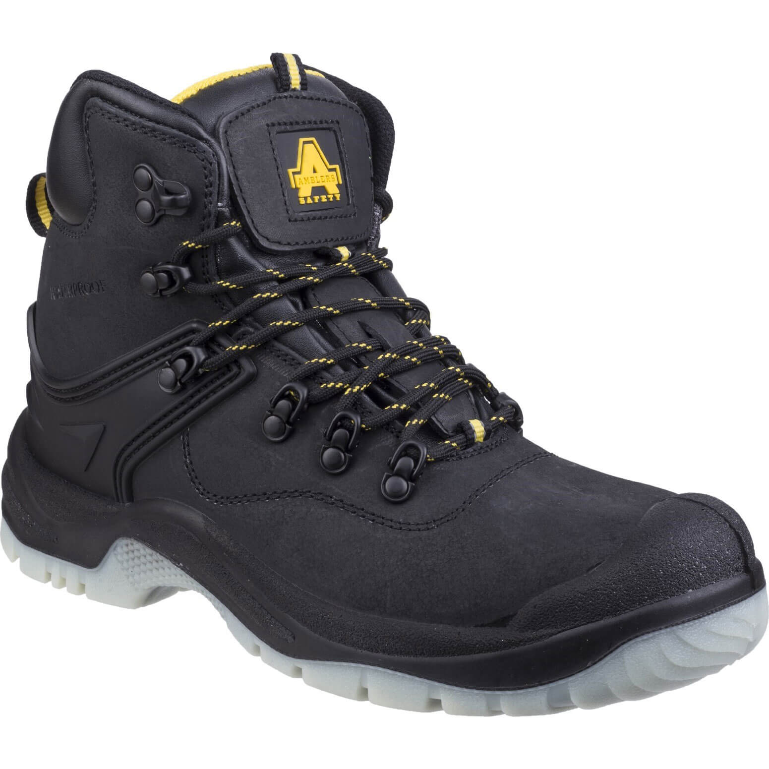 CHEAP Amblers Mens Safety FS198 Safety Boots Black Size 12 – Men's Footwear