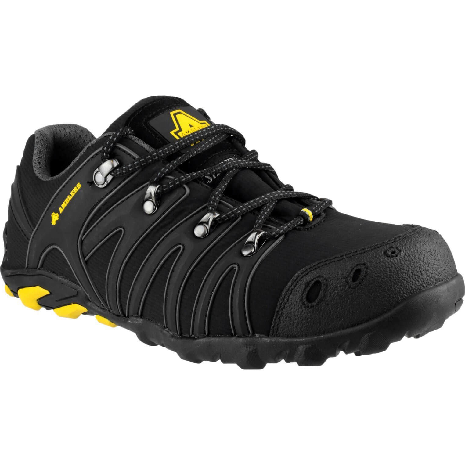 CHEAP Amblers Safety FS23 Soft Shell Trainer Black Size 12 – Men's Footwear