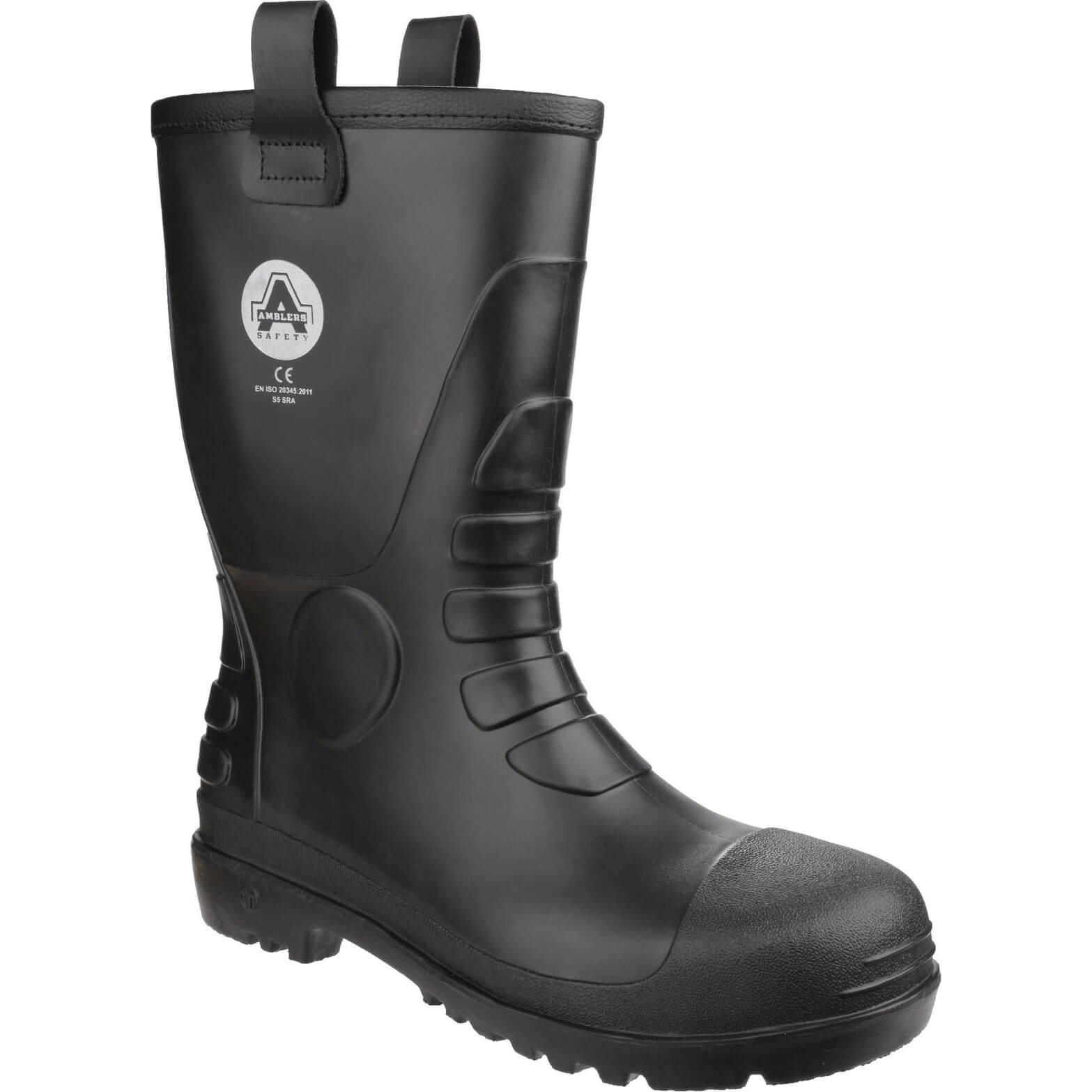 CHEAP Amblers Mens Safety FS90 Waterproof Pvc Pull On Safety Rigger Boots Black Size 4 – Men's Footwear