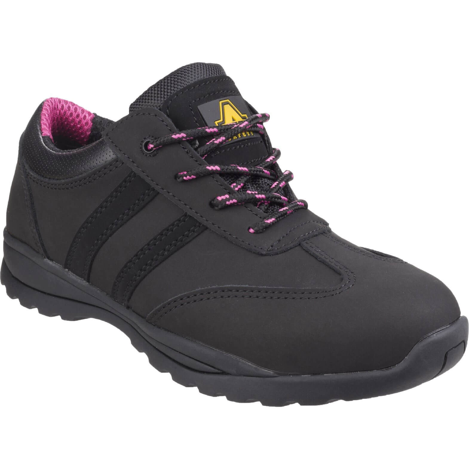 CHEAP Amblers Safety FS706 Sophie Lace Up Safety Trainer Black Size 6.5 – Men's Footwear