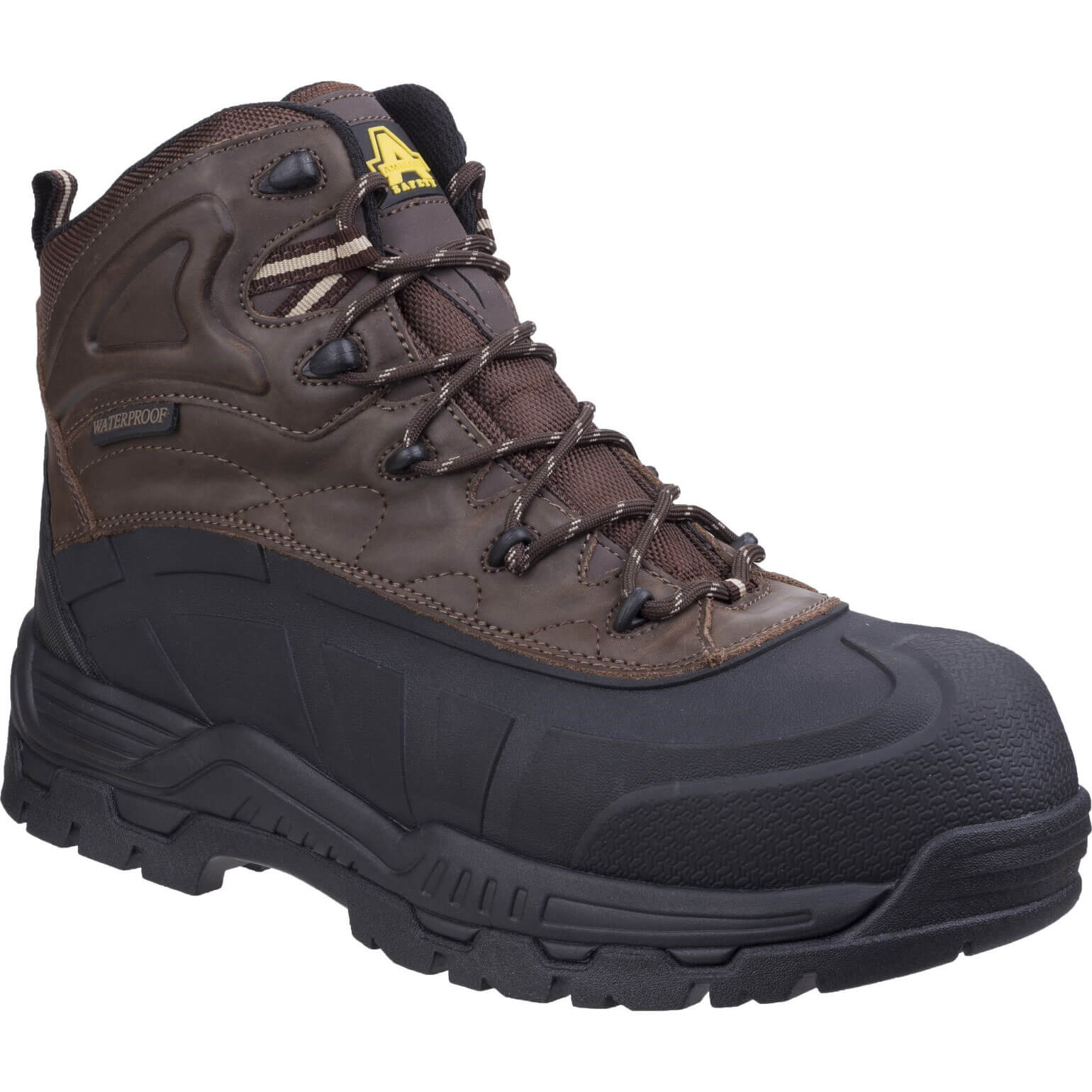 CHEAP Amblers Safety FS430 Orca Safety Boot Brown Size 10.5 – Men's Footwear