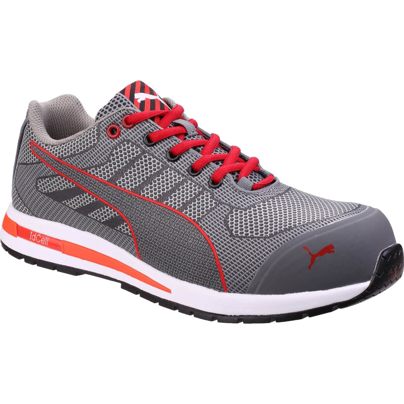 CHEAP Puma Safety Xelerate Knit Low Safety Trainer Grey Size 7 – Men's Footwear