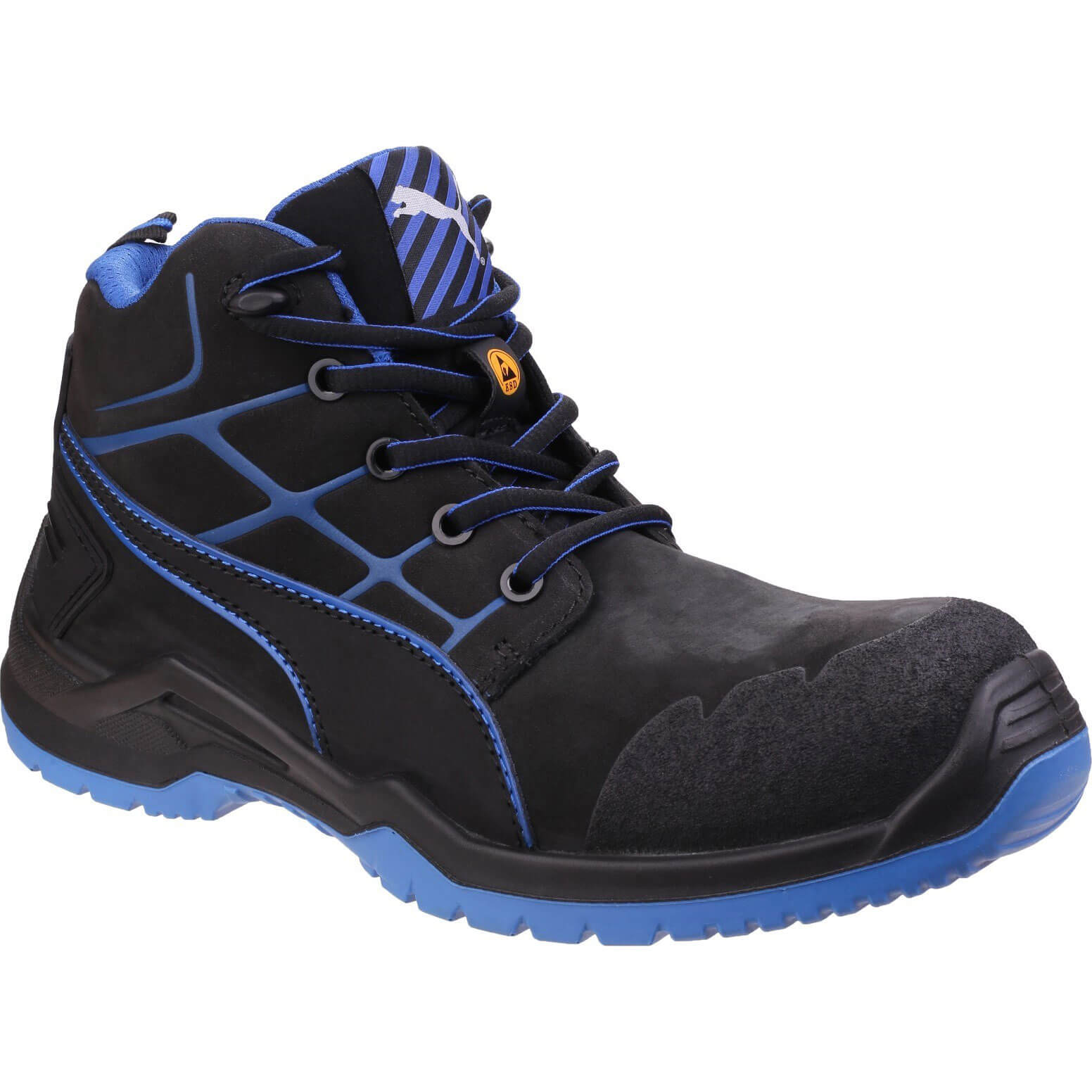 CHEAP Puma Mens Safety Krypton Safety Boots Blue Size 7 – Men's Footwear