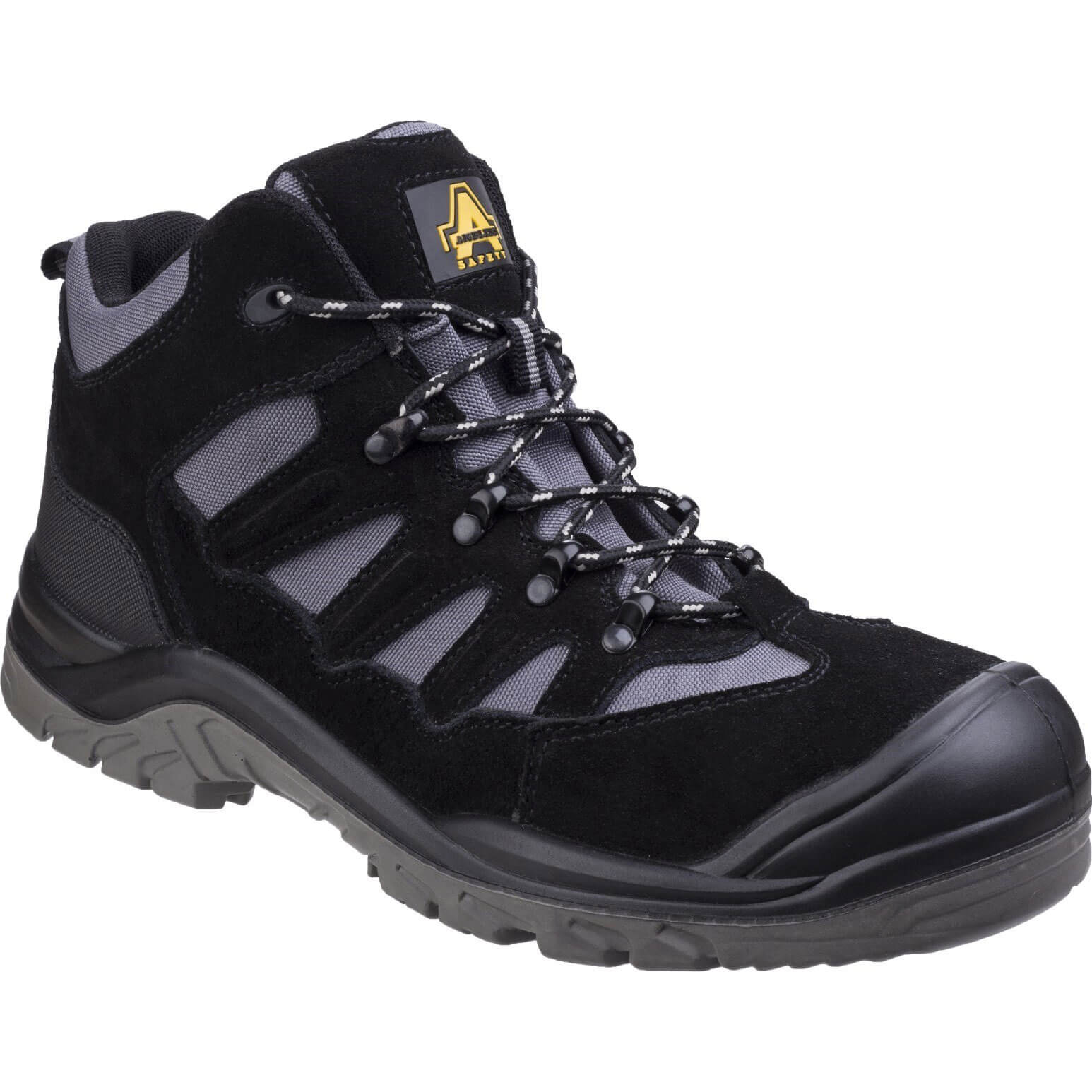 CHEAP Amblers Mens Safety As251 Lightweight Safety Hiker Boots Black Size 11 – Men's Footwear