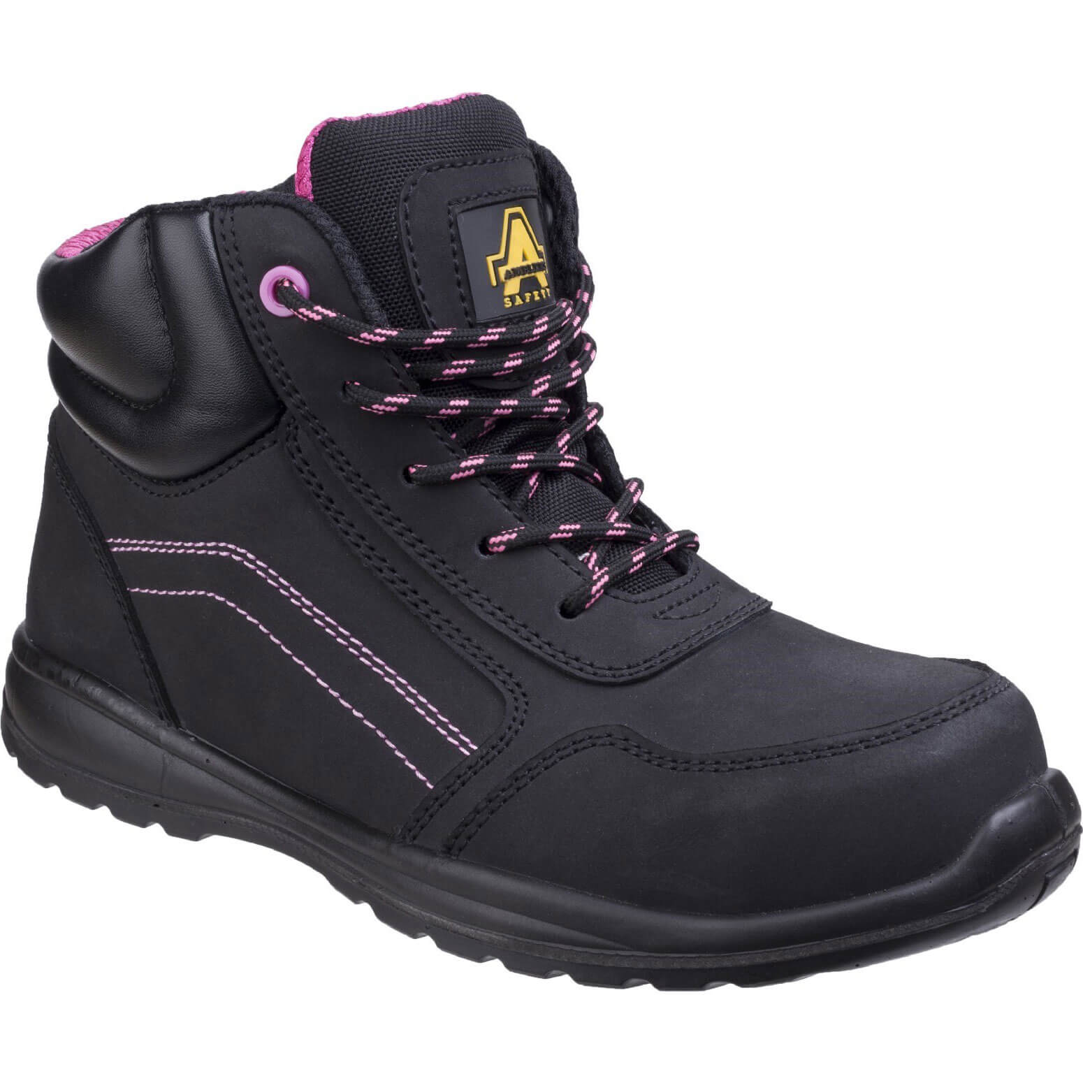 CHEAP Amblers Mens Safety AS601 Lydia Composite Safety Boots Black Size 9 – Men's Footwear
