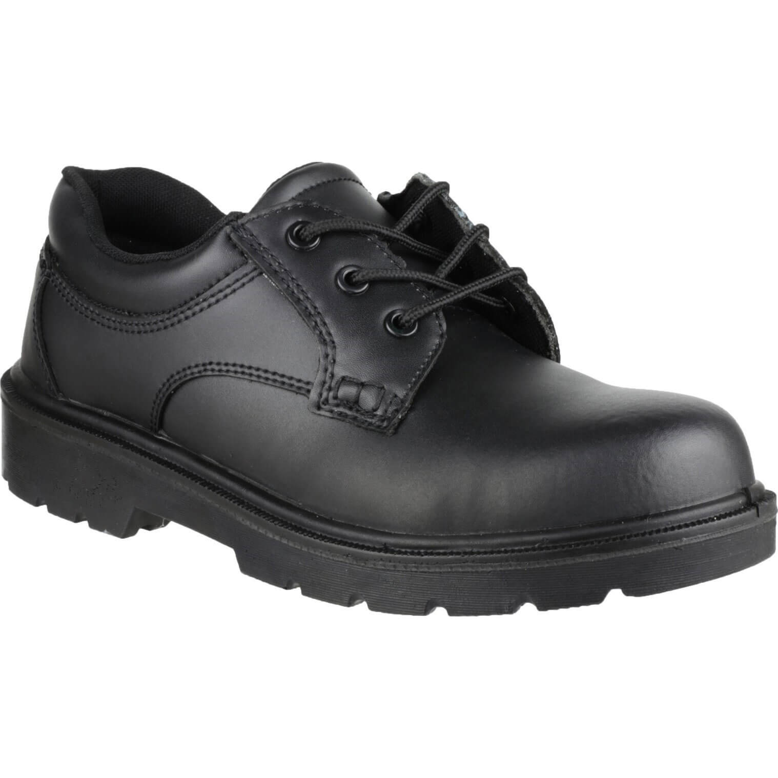 CHEAP Amblers Safety FS38C Metal Free Composite Gibson Lace Safety Shoe Black Size 12 – Men's Footwear
