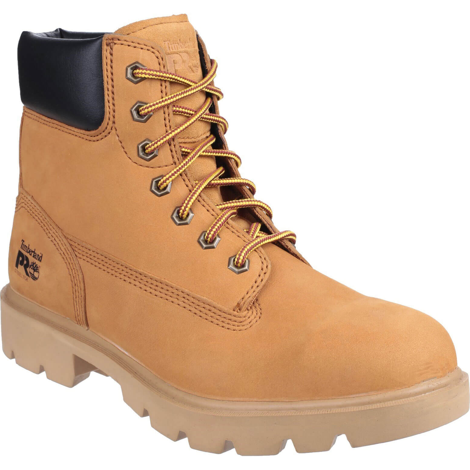 Image of Timberland Pro Mens Saw Horse Safety Boots Wheat Size 10