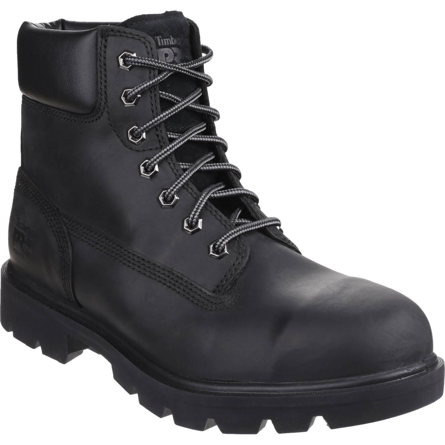 Image of Timberland Pro Mens Saw Horse Safety Boots Black Size 7