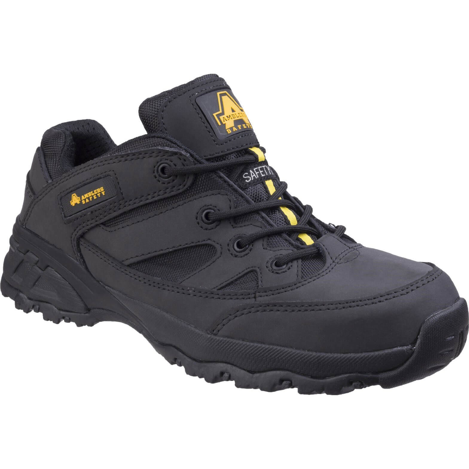 CHEAP Amblers Safety FS68C Fully Composite Metal Free Safety Trainer Black Size 9 – Men's Footwear