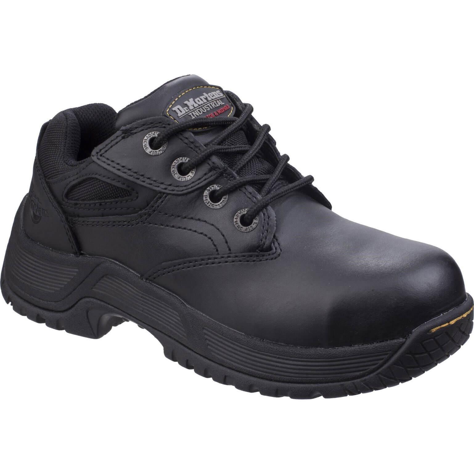 Image of Dr Martens Calvert Safety Shoe Black Size 10