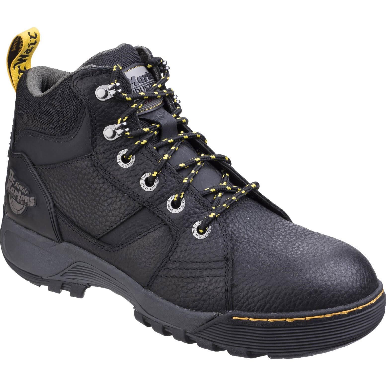 CHEAP Dr Martens Mens Grapple Safety Boots Black Size 4 – Men's Footwear