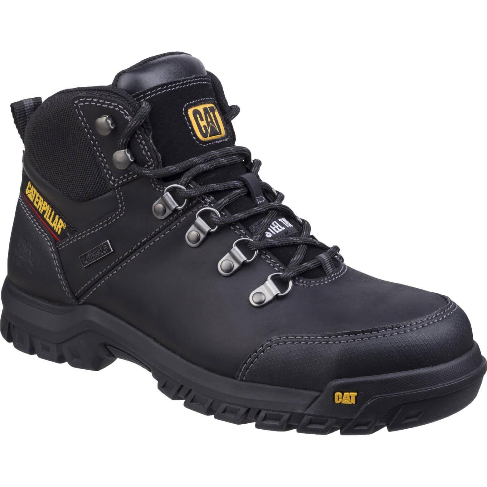 CHEAP Caterpillar Mens Framework Safety Boots Black Size 6 – Men's Footwear
