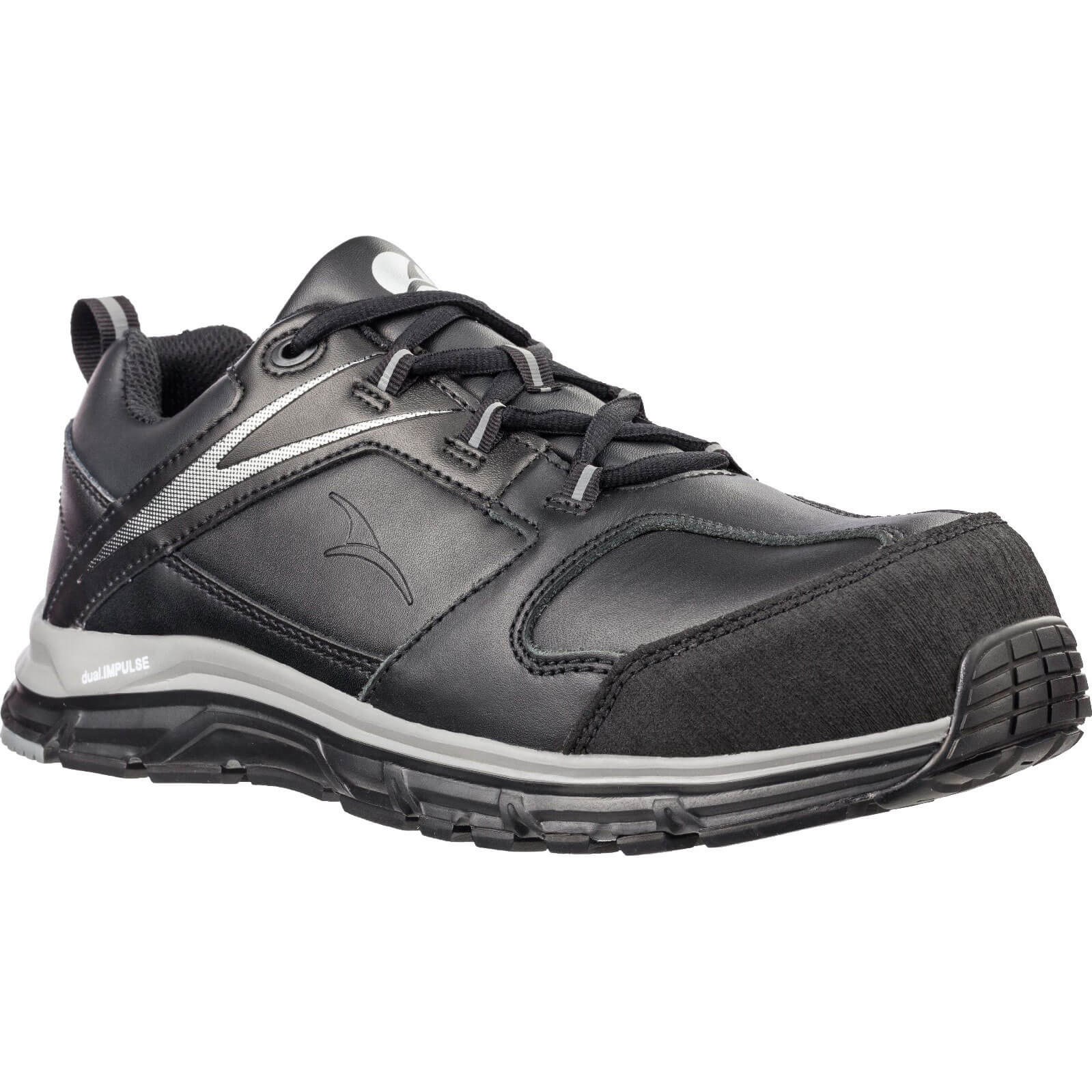 Image of Albatros Vigor Impulse Low Safety Trainer Black Size 10