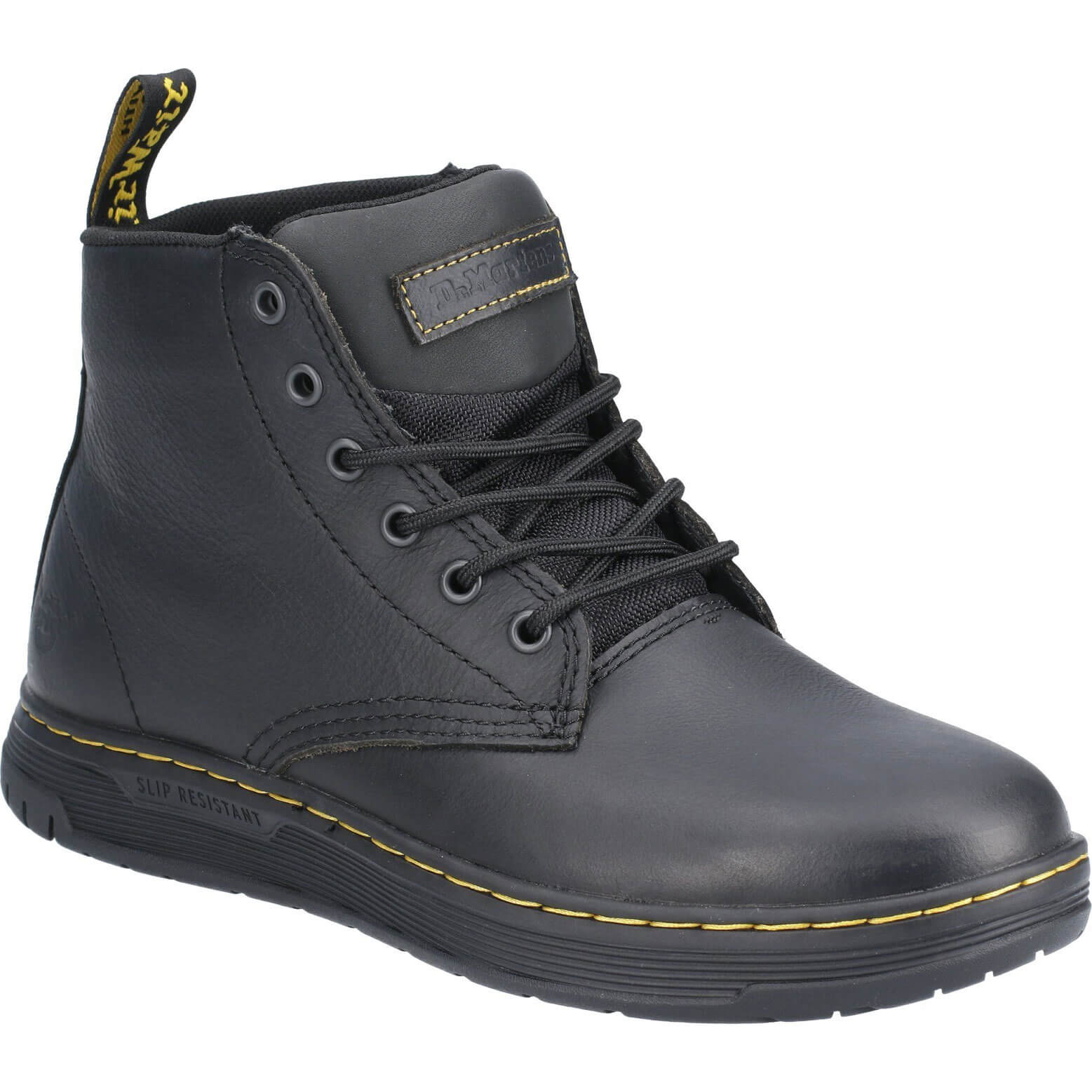 Image of Dr Martens Amwell Safety Boot Black Size 10