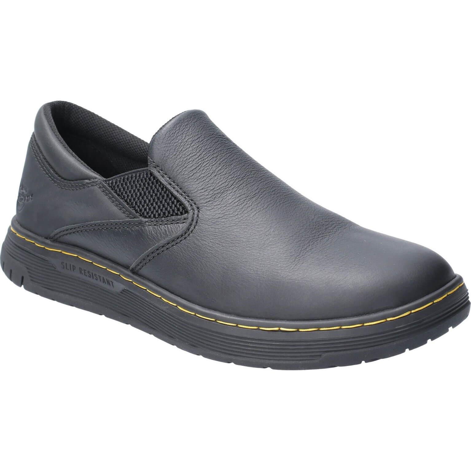 Image of Dr Martens Brockley Slip On Shoe Black Size 11