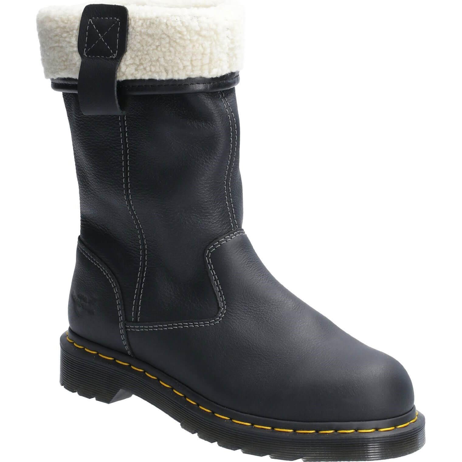 Image of Dr Martens Belsay Slip On Safety Boot Black Size 3