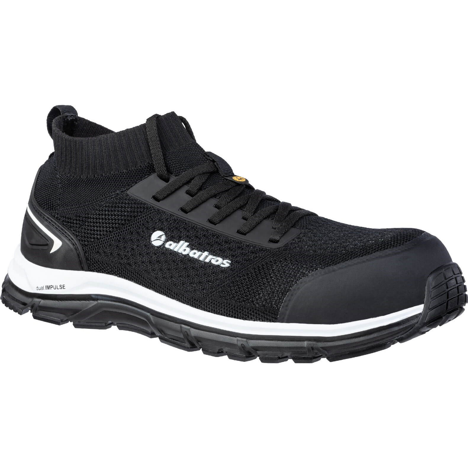 Image of Albatros Ultimate Impulse Low Lace Up Safety Shoe Black Size 10