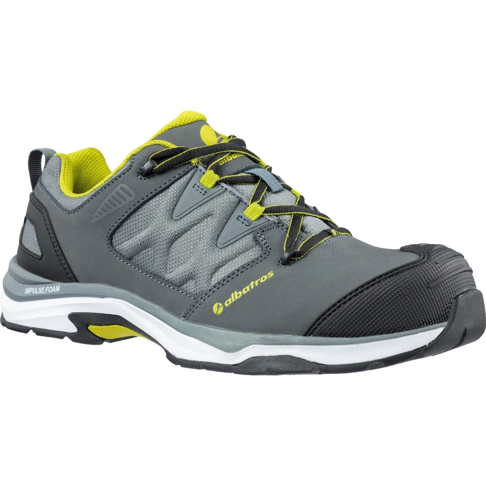 Image of Albatros Ultratrail Low Lace Up Safety Shoe Grey Size 8