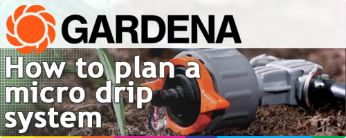 Gardena Micro Drip System How To Plan