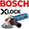Bosch X-Lock Angle Grinder System